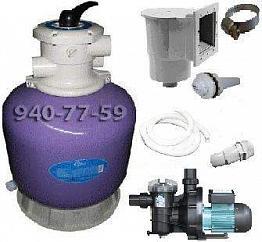 Система фильтрации бассейна до 30 м.куб.